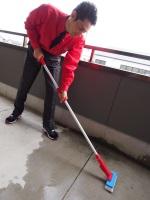 ベランダ清掃